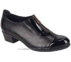 Удобные кожаные туфли Remonte в наличии