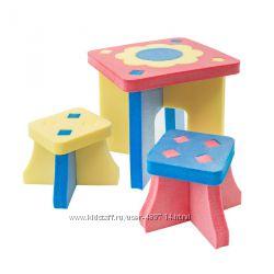 Детская игровая пенополиэтиленновая мебель в наличии