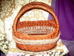 Плетение хлебницы, конфетницы, подносы, корзины, лежанки для собак и кошек.