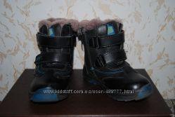 Высокие зимние ботиночки Шалунишка