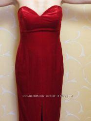 Велюровое платье в стиле Мерелин Монро