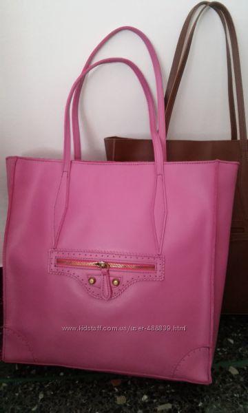 Італія сумка натуральна шкіра рожева  made in Italy