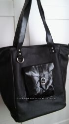 Італія сумка з натуральної шкіри Неро 2008 made in Italy
