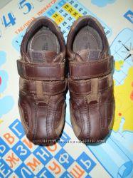 Кожаные туфли-кроссовки Next, 12, стелька 19 см.