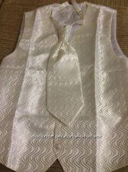 Свадебный жилет и галстук