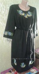 Эксклюзивное вышитое вручную платье