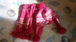 шапка и шарф Gap