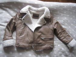 Очень модная фирменная курточка Sisley 2-4года