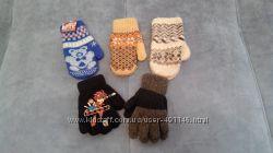 Рукавицы варежки перчатки