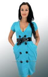 Платье трикотажное.