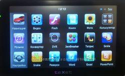 GPS-навигатор Texet TN-522HD DVR с видеорегистратором