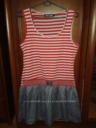 Симпатичное яркое платье на лето