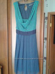 Интересное шифоновое платье, производства Турции