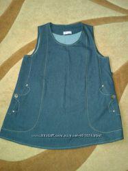 Туника джинсовая Mamastyle