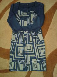 Интересное, теплое платье для беременных