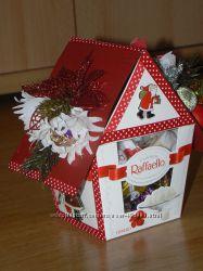 Подарки - сладкие Рафаэльные домики