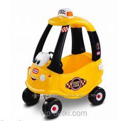 Машинка каталка Такси Little Tikes  Заправка