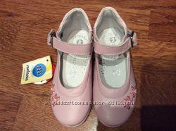 Кожаные туфельки итальянские Melaniya, снизила цену