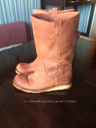 Ботинки-сапожки Moving кожа