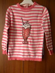 свитер тонкой вязки 4-5 лет