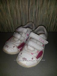 Кроссовки Clarks с мигалками для девочки
