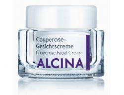Уход для чувствительной кожи ALCINA. Лечение Купероза.