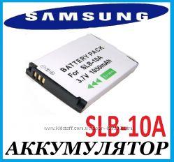 SLB-10A новый аккумулятор для Samsung L100, L110, L120, L200, L210