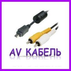AV кабель аудио и видео