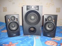 SVEN MS-340 мультимедийная акустическая система 2. 1