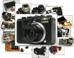 Ремонт цифровых фотоаппаратов, видеокамер, планшетов, ноутбуков.