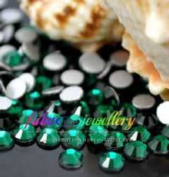 Стразы хрустальные цвет эмералд emerald