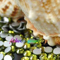 Стразы хрустальные цвет Оливин  olivine
