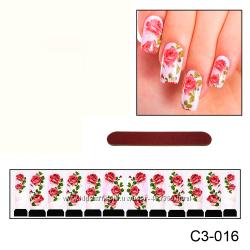 Наклейки для ногтей дизайн С 3-016