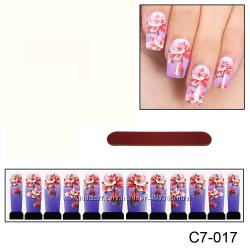 Наклейки для ногтей дизайн С 7-017