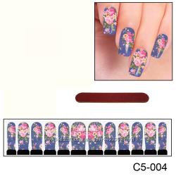 Наклейки для ногтей дизайн С 5-004