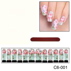 Наклейки для ногтей дизайн С 6-001