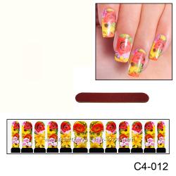 Наклейки для ногтей дизайн С 4-012
