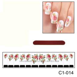 Наклейки для ногтей дизайн С 1-014