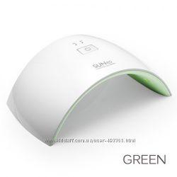 UV LED лампа Sun9C 24 Вт, цвет зелёный , для сушки геля и гель-лака