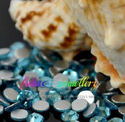 Стразы хрустальные цвет   Аквамарин  Aquamarine