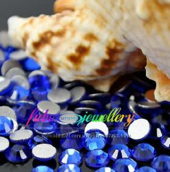 Стразы хрустальные цвет   Сапфир sapphire