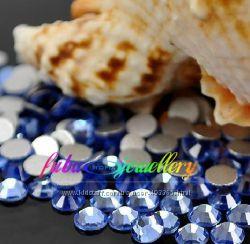 Стразы хрустальные цвет  Light Sapphire
