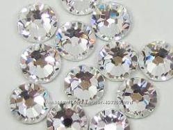 Стразы хрустальные набор для декора ногтей Cristal,  8 размеров на выбор