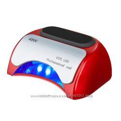 Профессиональная гибридная лампа CCFL LED с таймером, 48 Вт