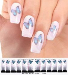 Наклейки для ногтей, дизайн С 1-009