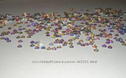 Стразы хрустальные для декора ногтей Cristal AB -  хамелеон, размер любой