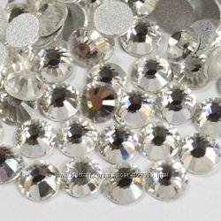 Стразы хрустальные набор для декора ногтей Cristal, размер на выбор