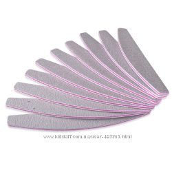 Профессиональные пилочки 100-180 для маникюра отличного качества