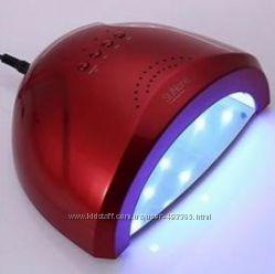 Лампа SUNone 48W Professional UVLED цвет red для гель лаков и гелей
