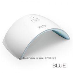 UV LED лампа Sun9C 24 Вт, цвет синий , для сушки геля и гель-лака